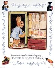 BEATRIX  POTTER  16 X 20 INCH ART PRINT POSTER  TALE OF GINGER AND PICKLES