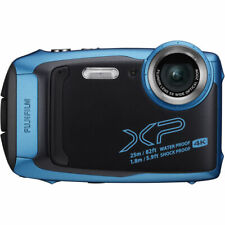 Fujifilm FinePix XP140 Waterproof Digital Camera (Blue) - Open Box