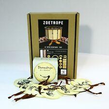 Zootrope + Thaumatrope (2 animation optical toys)