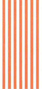 "30""x60""  Cabana Stripes Orange Beach Towel"