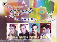 Elvis Presley First Recording UMM Stamp Sheet (Micronesia)