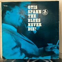 OTIS SPANN The Blues Never Die LP Prestige early 70's issue VG+ / VG+