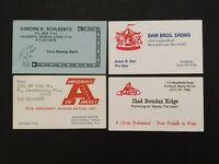 Circus Cards Booking Agent Bair Bros  Spanky The Clown Amusements of America