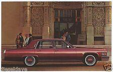 1978 Cadillac 4Dr SEDAN FLEETWOOD? NOS Dealer Promotional Postcard UNUSED VG+ ^