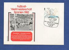 Orig.Ersttagsbrief  WM Spanien 1982   DEUTSCHLAND - ÖSTERREICH // Spiel 34 ! TOP