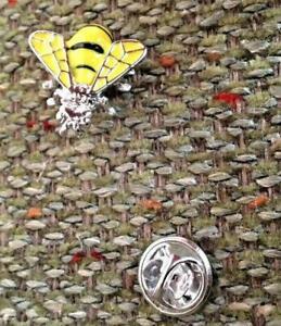 3D Bee Lapel Tie Pin