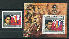 rare timbres stamps echecs, chess, neuf** comores