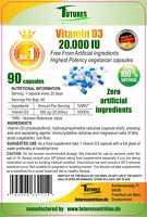 Vitamin D3 20000IU Super stark 90 kapseln hochdosiert 20.000IU per kapseln !!!