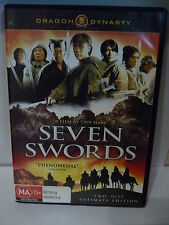 DRAGON DYNASTY SEVEN SWORDS(2 DISC) DVD MA15+ RATED
