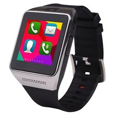 """1.54"""" W008 Watch Phone Touch Screen Quad Band Unlocked 5.0 mp Camera Bluetooth"""
