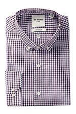 Ben Sherman Bond Long Sleeve Tailored Slim Fit  Dress Shirt--XL: 17-34-35
