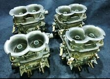 WEBER 42 DCNF CARBURETORS SET OF FOUR MASERATI ASTON MARTIN MASERATI FERRARI