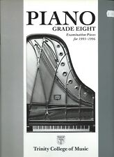 Trinity college of music G8 Piano Exam pieces 1993-6