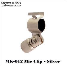 Oktava MK-012 - Original Stand Mount Mic Clip - Silver - Brand New