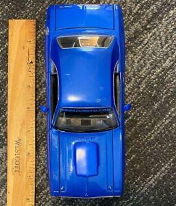 New Maisto Pro Rodz 1970 Dodge Challenger RT Coupe in Blue 1/24 Diecast