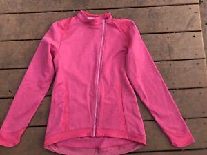 Bontrager VELLA Thermal Women's PINK Cycling Jacket - Full ZipLARGE
