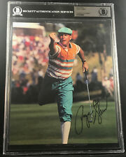 PAYNE STEWART 1991 US OPEN HAZELTINE WIN SIGNED AUTOGRAPHED PHOTO BECKETT BAS