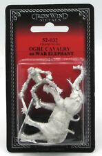 Ral Partha 52-032 Ogre Cavalry on War Elephant Chaos Wars Armored Giant [01-099]