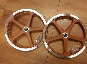 "Strida 16"" wheel set - brown"