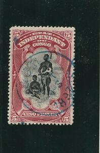 Belgisch Kongo - Unabhängiger Staat - 1892 - MiNrn 19 - sauber Gest. Top!