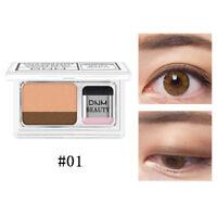 Double Color Eyeshadow Waterproof Palte Shimmer Eye Shadow Makeup Cosmetics