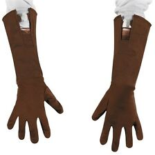 Captain America Retro Gloves Winter Soldier Halloween Child Costume Accessory