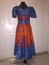 NIGERIAN WAX ANKARA DRESS ( CULTURAL& ETHNIC CLOTHING > AFRICA )