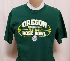 Oregon Ducks Football Mens Sz M 2010 Rose Bowl 100% Cotton Short Sleeve Adidas