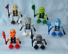 2001 Lego Bionicle TURAGA - All 6 Village Elders of Mata Nui (8540 - 8545)