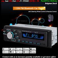 1 DIN Autoradio Car Radio de Voiture Bluetooth MP3 FM/USB/AUX Head Unit Stereo