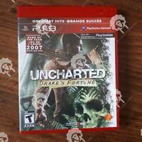 UNCHARTED DRAKES FORTUNE  ( Playstation 3 PS3  ) Tested