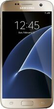 """""""New"""" Samsung Galaxy S7 G930a AT&T Global GSM Unlock 32GB Smartphone Gold"""