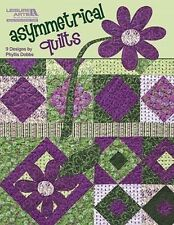 Asymmetrical Quilts Blocks Applique Floral Geometrics Patterns Book Quilting NEW