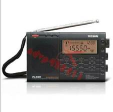 Nuevo 1PC Tecsun PL-660 PLL FM estéreo MW/LW/SW/banda aérea