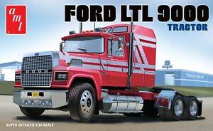 AMT Ford Ltl 9000 Semi Tracteur 1/24 1238 Modèle Plastique Kit Camion