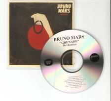"BRUNO MARS ""GRENADE'"" 7 REMIX BRAZILIAN CD PROMO"