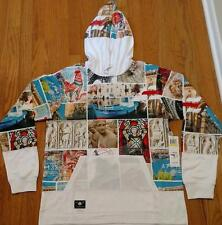 "L-R-G Lifted Research Group LRG ""Last Destination"" Pullover Hoodie White 2XL"