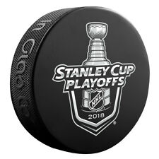 2018 National Hockey League Stanley Cup Playoffs Souvenir Puck