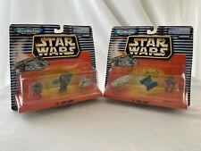 Star Wars Micro Machines 1997 Collection Sets 4 & 5 MOC Galoob AT-AT ST & More