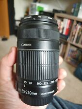 Canon EF-S 55-250mm f/4.0-5.6 IS Lens