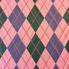 NL096 Diamond & Baratta Argyle Geo Geometric Classic Designer Home Decor Fabric
