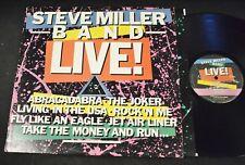 The Steve Miller Band Capitol 12263 Live