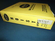 HOIST FKS-15X UNITED LIFT TRUCK FORKLIFT SERVICE SHOP REPAIR MANUAL BOOK