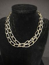 30 Inch Chunky Chain Link Necklace 1990s Diva