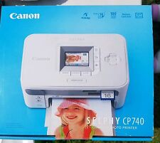 Canon SELPHY CP740 Digital Photo Inkjet Printer