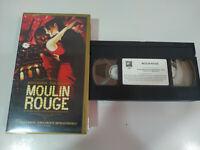 MOULIN ROUGE EWAN MACGREGOR NICOLE KIDMAN VHS Cinta Tape Español