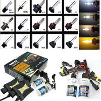55W HID Xenon Kit H1 H3 H4 H7 H8 H11 9006 HB4 Light Ballast Conversion Headlight