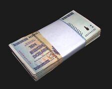 50 Zimbabwe Banknotes-50 x 10 Billion Dollars-2008 currency