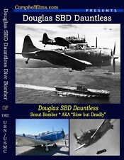 "Douglas SBD Dauntless Dive Bomber ""Slow but Deadly""  USN Carrier Bomber WW2"