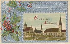 Präge Litho-Karte  Gruss aus Altötting,  Bayern    21/11/14